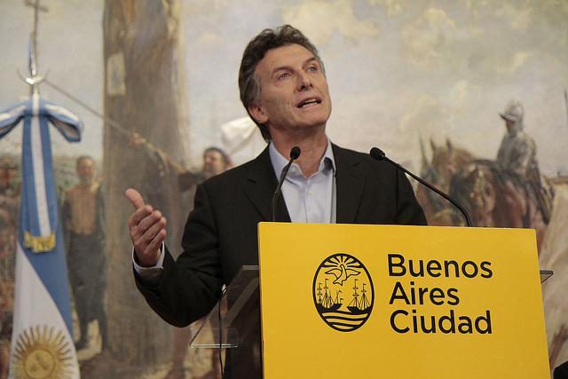 Mauricio Macri startups