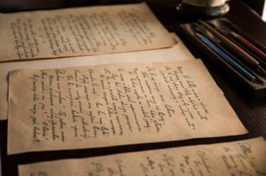 Bond handwritten notes