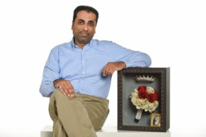 Hani Al-Hajari, the founder of Flower Secret