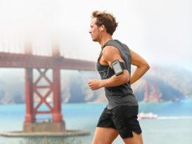 Male runner in San Francisco